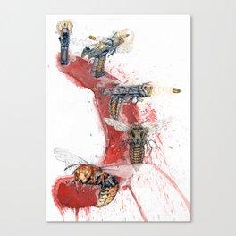 GUN SHOT ONE SHOT Canvas Print