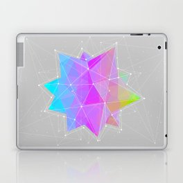 The Dots Will Somehow Connect (Geometric Star) Laptop & iPad Skin