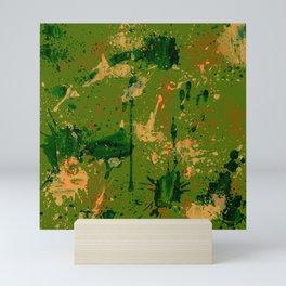 Green riot Mini Art Print