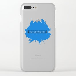 Eat Sleep Practice: Repeat Clear iPhone Case
