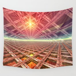 Space Portal To The Stars Wall Tapestry