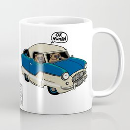 Wolverines in their Nash Metropolitan  Coffee Mug