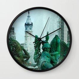 Penn On Top Wall Clock