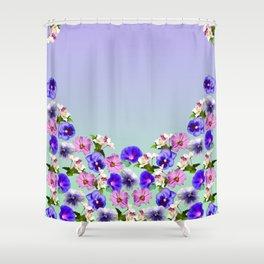 Flowers In My Garden Shower Curtain