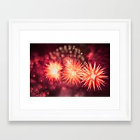 philippines Framed Art Prints featuring Fireworks - Philippines 12 by David Johnson