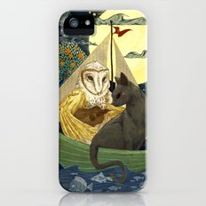 The Owl and the Pussycat iPhone SE Slim Case