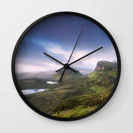 The Beauty of the Quiraing II Wall Clock