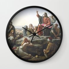 Hover Lord Wall Clock