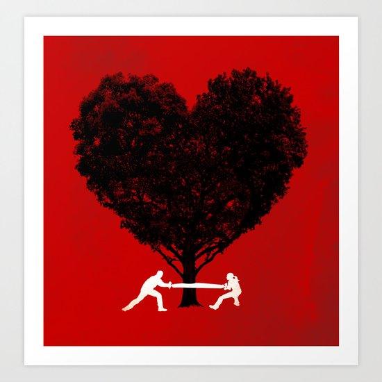 Labor of Love Art Print