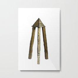 Judas Cradle Heretics Torture Punishment Built Evil Experiment Metal Print