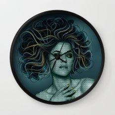 Gorgon Medusa Wall Clock