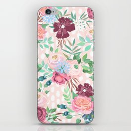floral xii iPhone Skin
