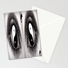 7 Eye Collection: Yin Yang In Your Eyes Stationery Cards