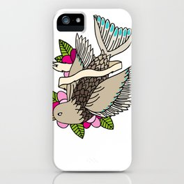 The world is a small place after all. iPhone Case