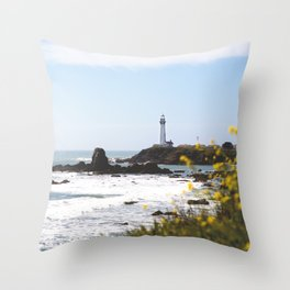 Springtime On The West Coast Throw Pillow