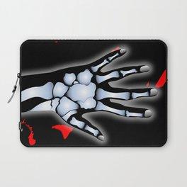 Skeleton Hand Laptop Sleeve