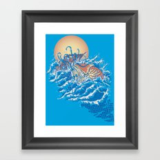 The Lost Adventures of Captain Nemo Framed Art Print