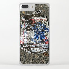 Dirty PBR Clear iPhone Case