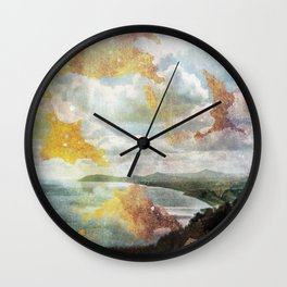 Killiney Gold Wall Clock