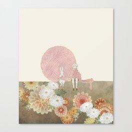 long scarf (sun) Canvas Print