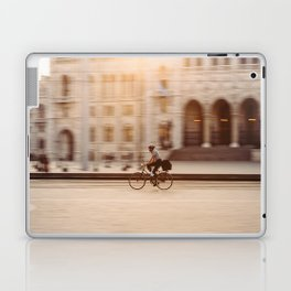 Riding in Budapest Laptop & iPad Skin