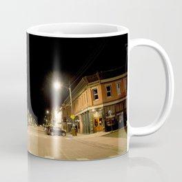 Gold Rush Era Town - Silverton at Night Coffee Mug
