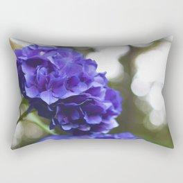 Evening Hydrangea Rectangular Pillow
