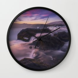Low-key Point Of View Wall Clock