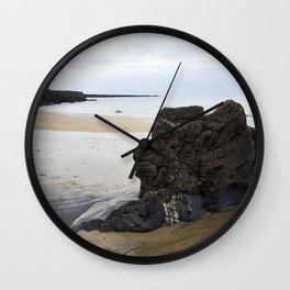 Sentinel Beach Rock Wall Clock