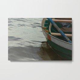 A Boat in Brazil Metal Print
