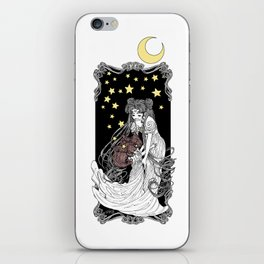 The Rabbits in the Moon iPhone Skin