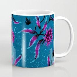 Queen of the Night - Teal / Purple Coffee Mug