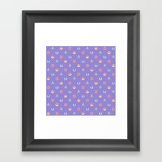 Lilac and Pastels SW Pattern Framed Art Print