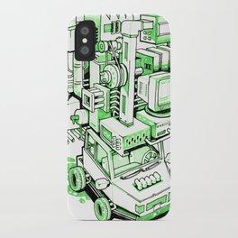 Green Machine Car iPhone Case