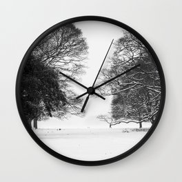 Winter in the Park - Print (RR 271) Wall Clock