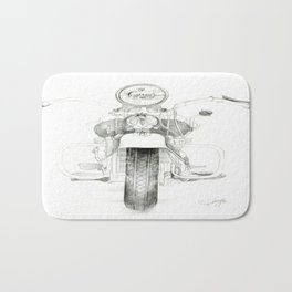 Motorcycle 1 Bath Mat