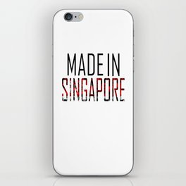 Made In Singapore iPhone Skin