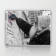 Occupy Truth, He said Laptop & iPad Skin