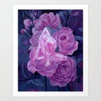 strength and beauty Art Print