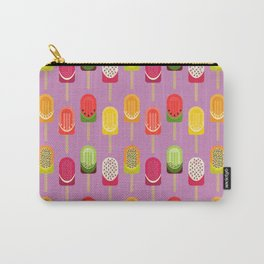 Fruit popsicles - pink version Carry-All Pouch