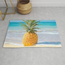 Aloha Pineapple Beach Kanahā Maui Hawaii Rug