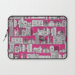 New York pink Laptop Sleeve