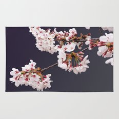 Cherry Blossoms (illustration) Rug