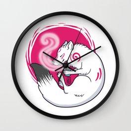 Wolf Tea // Light Wall Clock