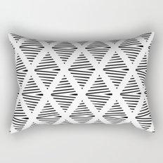 BW Pattern Rectangular Pillow