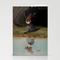 over the garden wall Stationery Cards featuring Over the garden wall by Peetsj