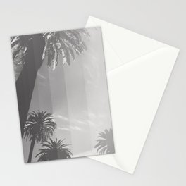 Black and White Palm Stationery Cards