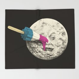 Summer Voyage (colour option) Throw Blanket