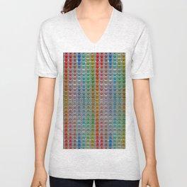 Bright cotton reels. Unisex V-Neck