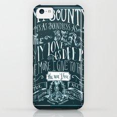 Love Quote iPhone 5c Slim Case